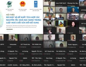 Promote Green Chemistry in Viet Nam